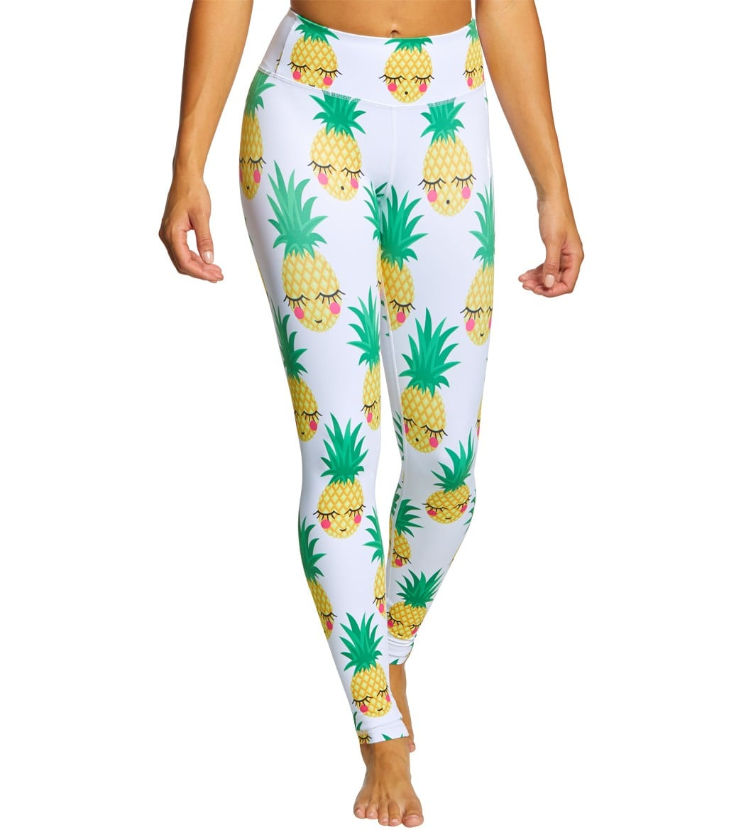 24145d085bfc5 Flexi Lexi Women s Pineapple Flexi Leggings at SwimOutlet.com - Free  Shipping