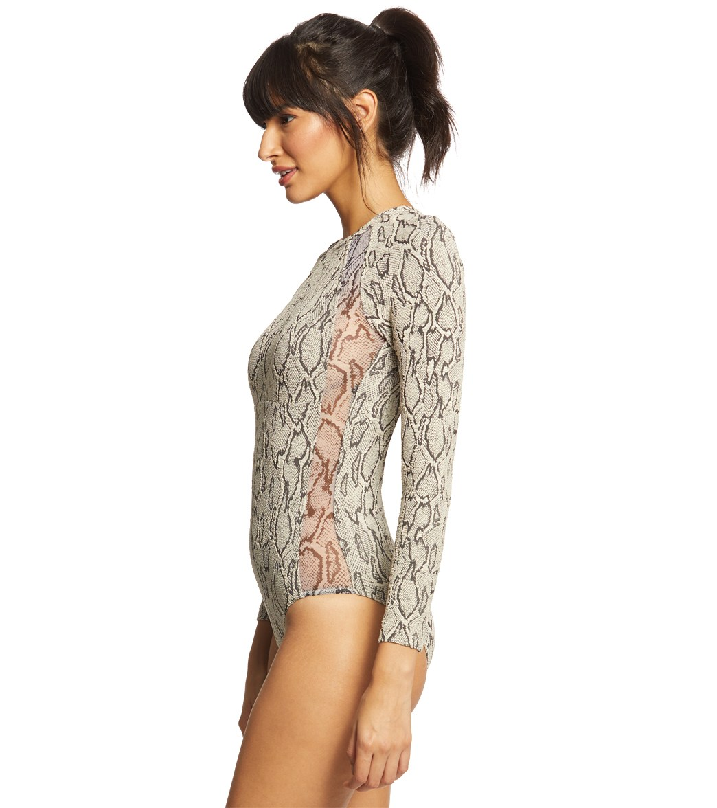 82033cf60a Seafolly Wild Side Long Sleeve Surfsuit at SwimOutlet.com - Free ...