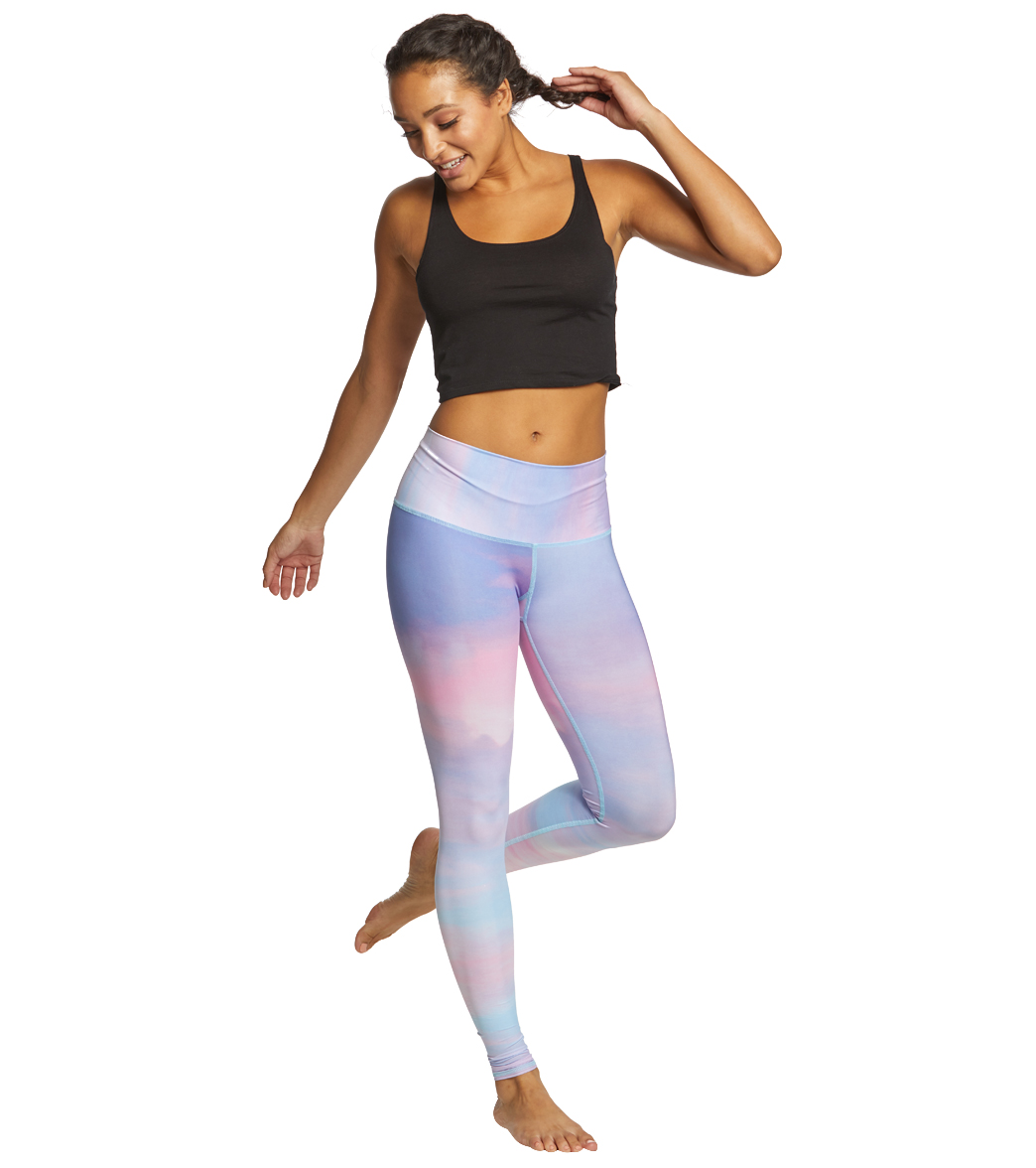 39c89340999a3 Teeki Pastel Clouds Hot Pants at YogaOutlet.com - Free Shipping