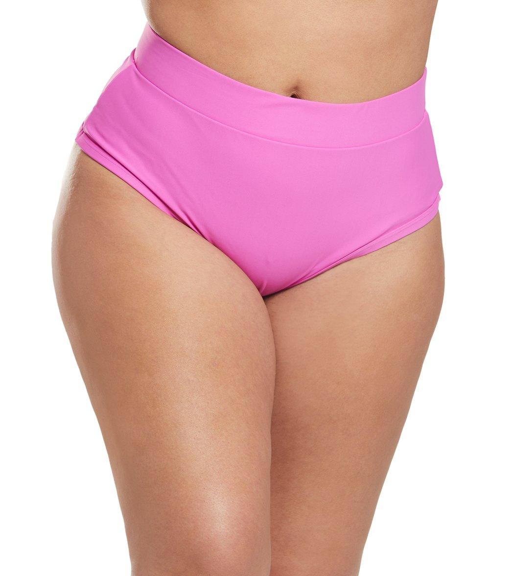 Alpine Butterfly Plus Magenta Lover Bikini Bottom -