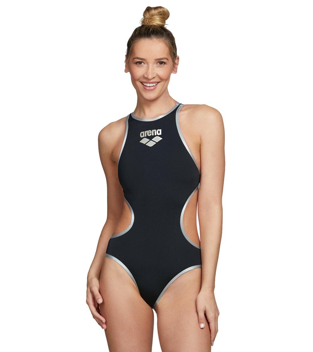 Arena Women's One Big Logo Piece Swimsuit