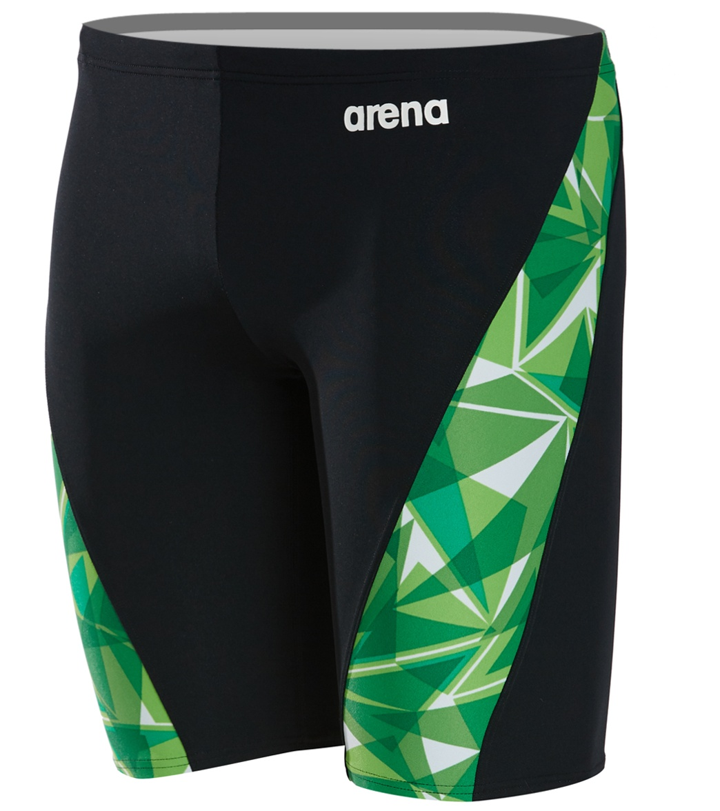 94a53f86bb2 Arena Men s Shattered Glass MaxLife Jammer Swimsuit at SwimOutlet.com -  Free Shipping