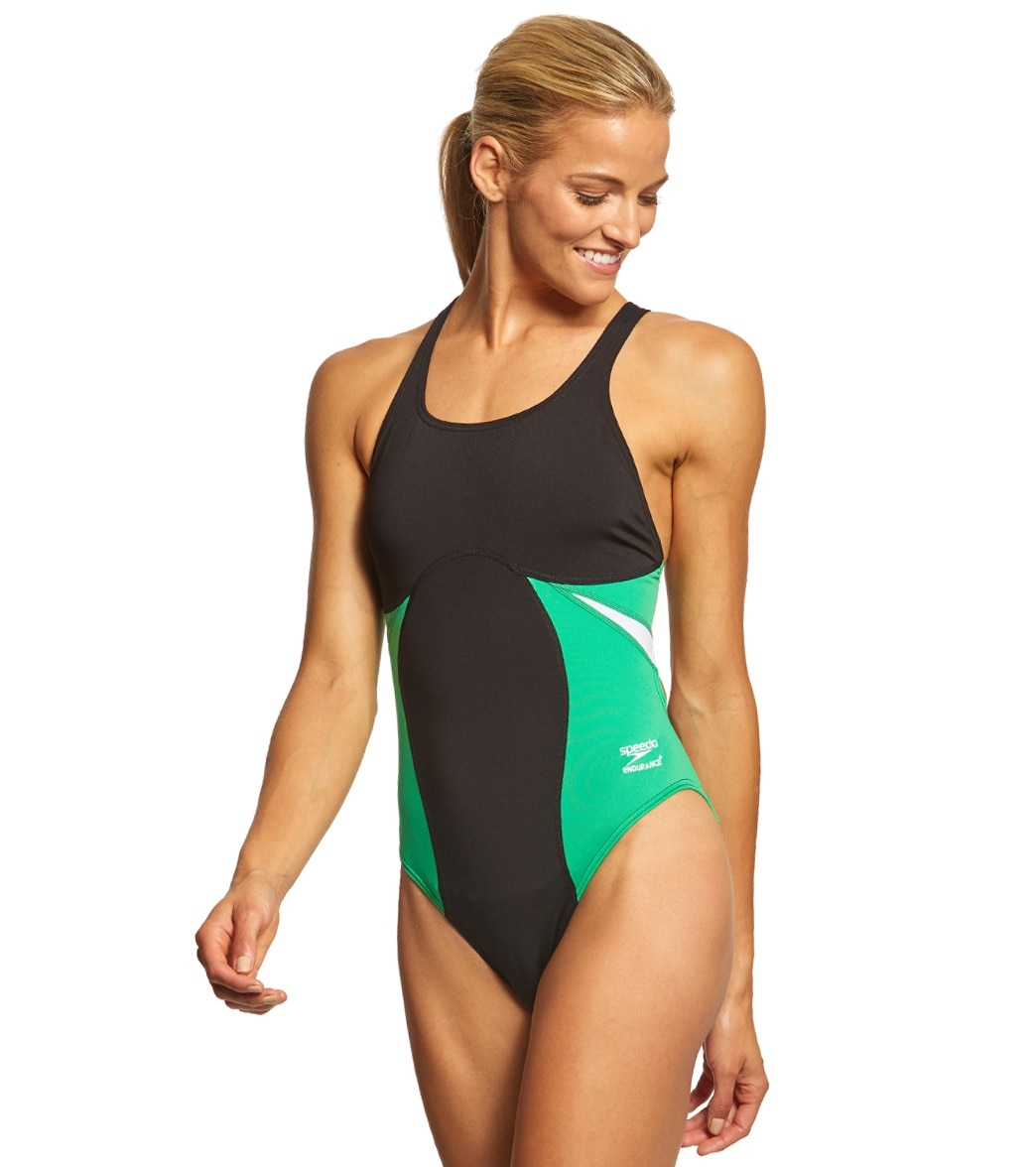 2969af0b1fee1 Speedo Women s Spark Splice Super Pro One Piece Swimsuit at SwimOutlet.com  - Free Shipping