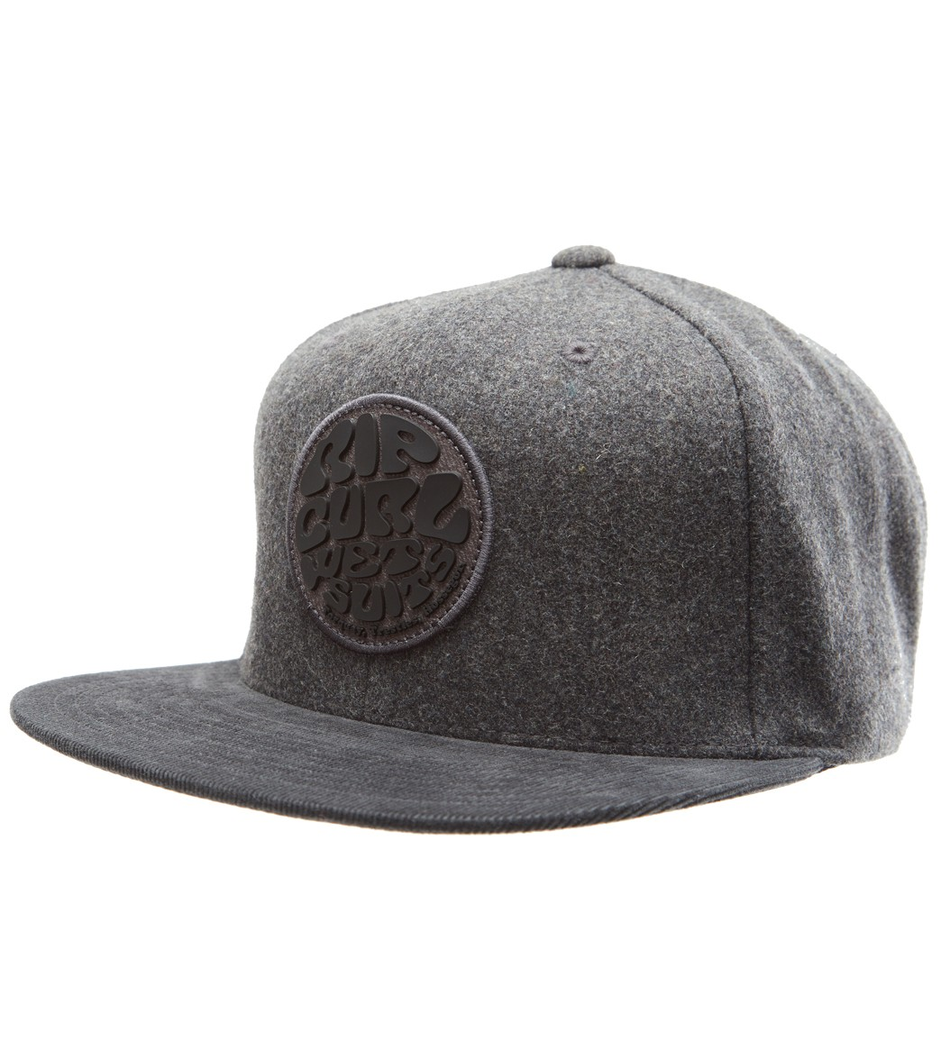 Rip Curl Men s Wettie Heritage Snapback Hat at SwimOutlet.com 55b9f91b5b8