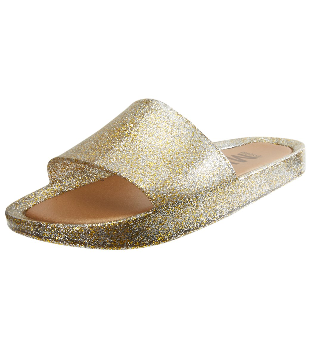 235097908 Mel by Melissa Women s Beach Slide Sandal at SwimOutlet.com - Free Shipping
