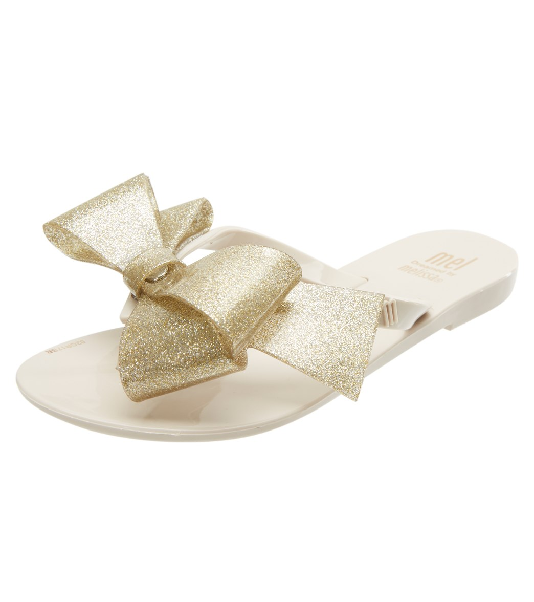 f0bb6305d17aa6 Mel by Melissa Girls  Harmonic Bow III Flip Flop Sandal (Little Kid) at  SwimOutlet.com - Free Shipping