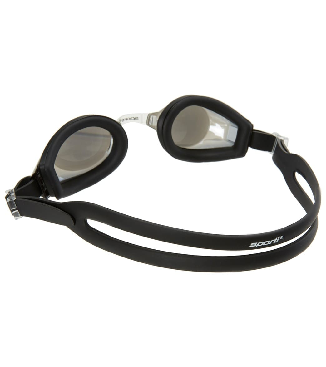 e2a8849764 Sporti Antifog Positive Optical Mirrored Goggle at SwimOutlet.com
