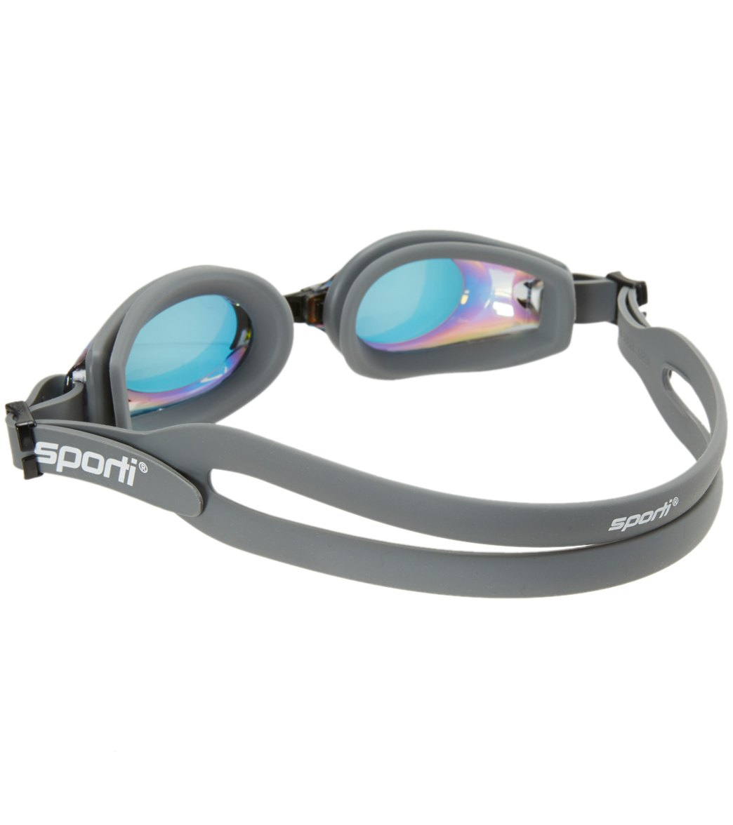 01f9c13d65 Sporti Antifog Optical Pro II Mirrored Goggle at SwimOutlet.com