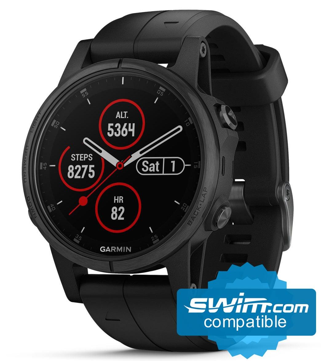 Garmin Sports Watch >> Garmin Fenix 5s Plus Sapphire Mutli Sport Gps Watch At Swimoutlet