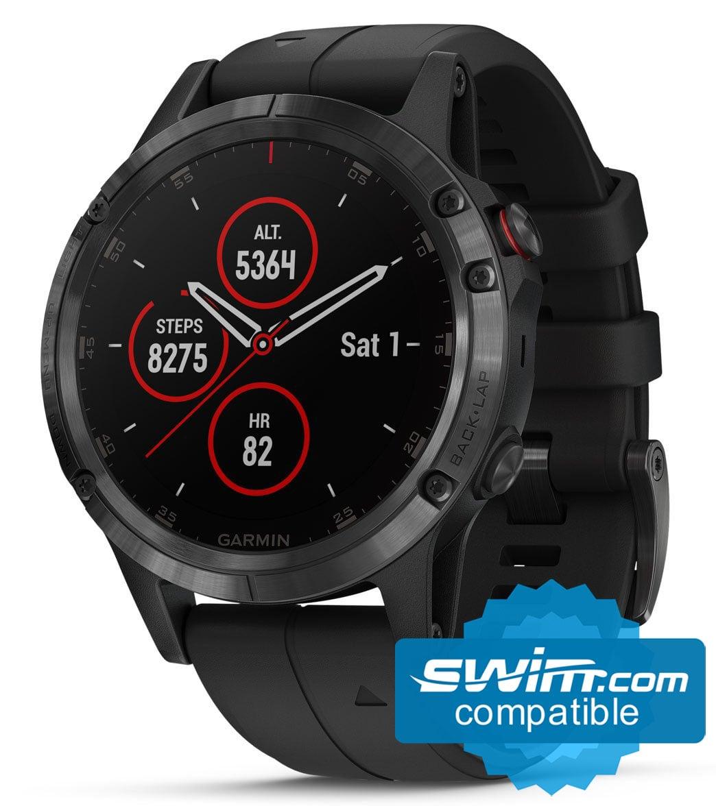 Garmin Sports Watch >> Garmin Fenix 5x Plus Sapphire Mutli Sport Gps Watch At Swimoutlet