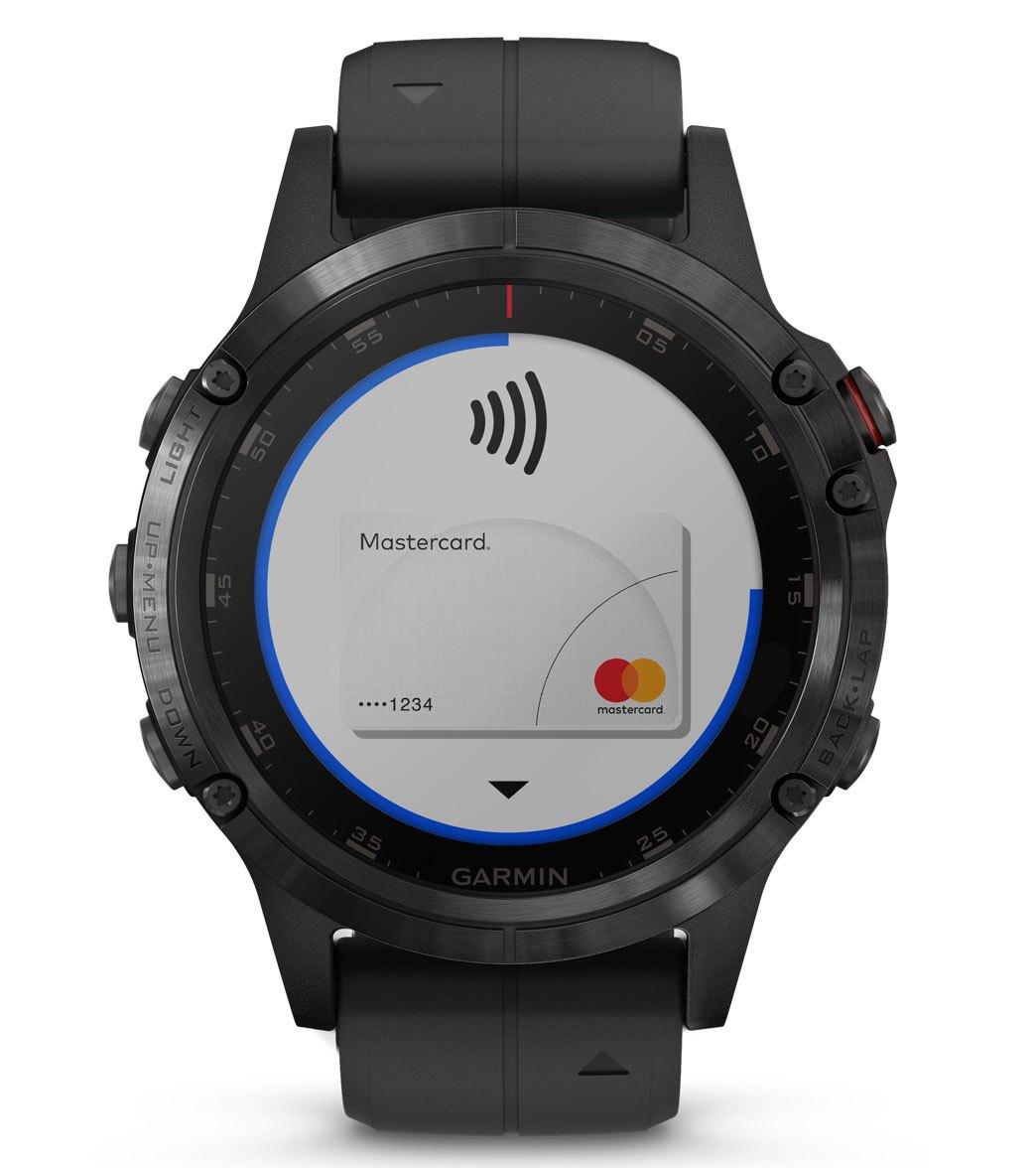 02a19e3825ba Garmin Fenix 5x Plus Sapphire Mutli-Sport GPS Watch at SwimOutlet ...