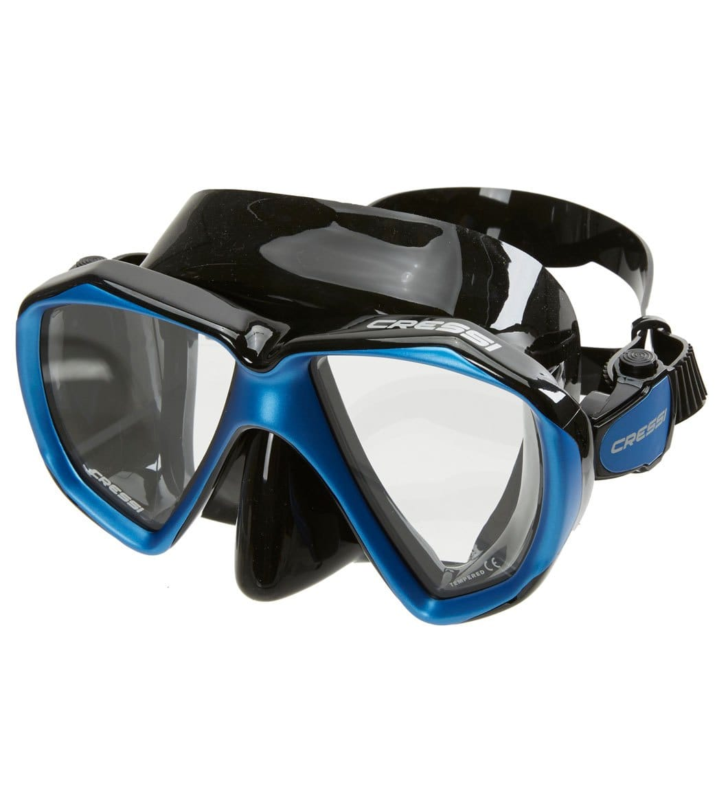 3e8e5ac2d31 Cressi Liberty Duo Scuba Mask at SwimOutlet.com - Free Shipping