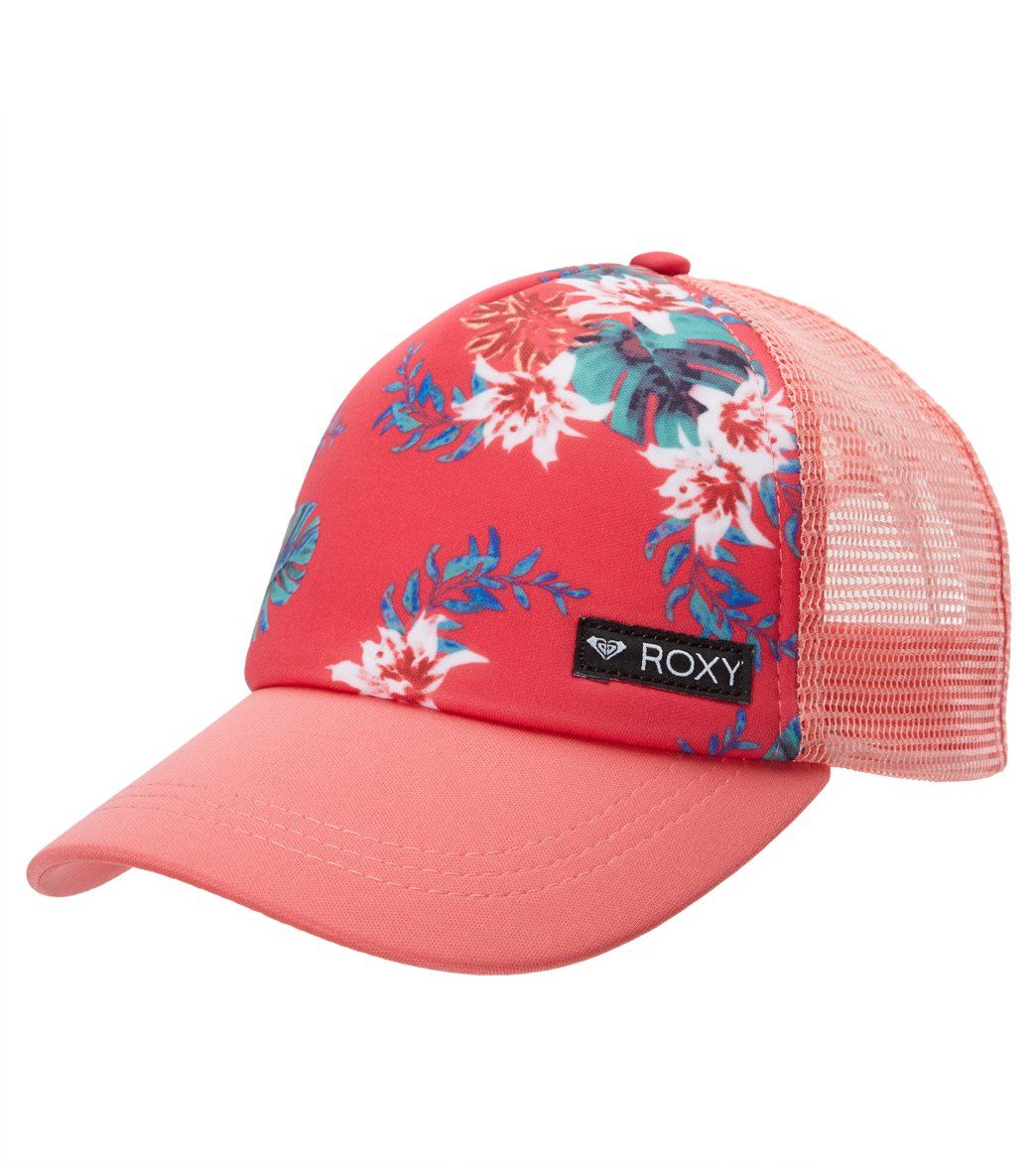 d530a5960a6 Roxy Girls  Just Ok Trucker Hat at SwimOutlet.com