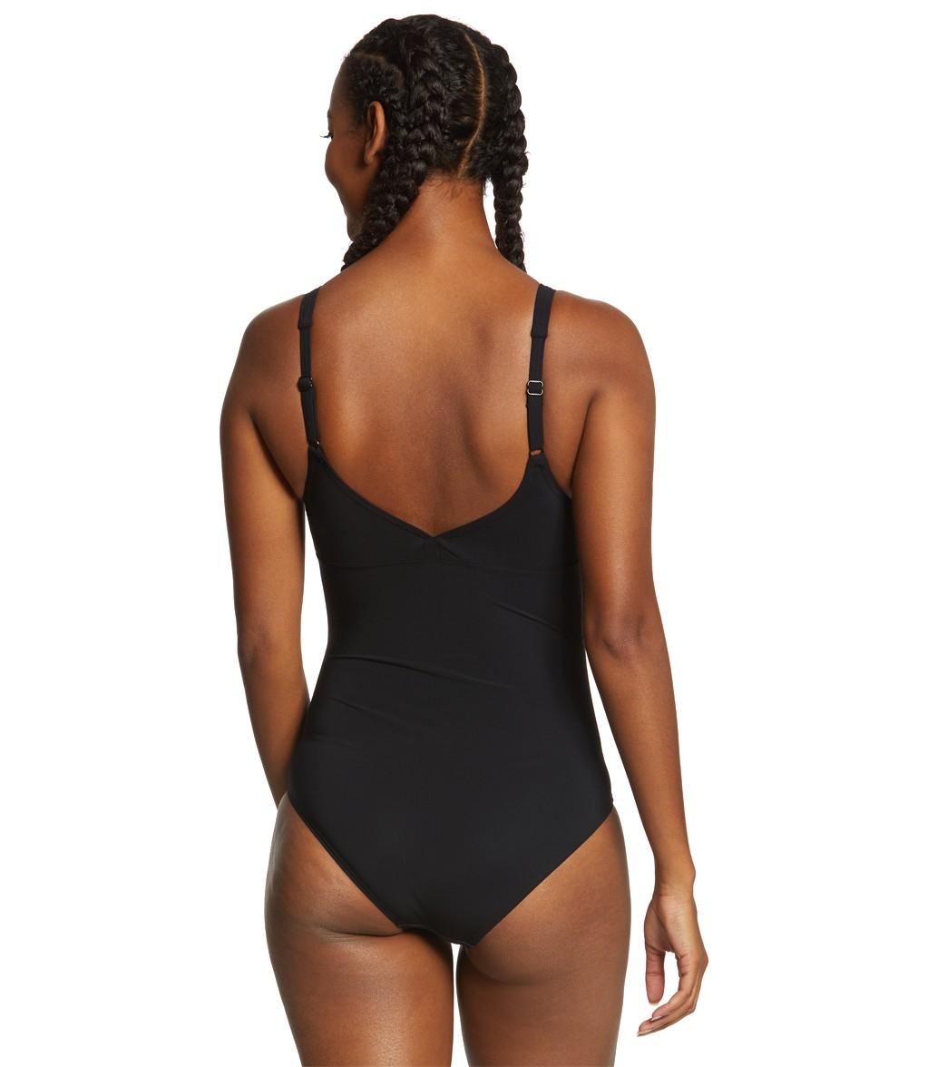 3bd5b44ebf Arena Women s Bodylift Opal Wing Back Shapewear One Piece Swimsuit ...