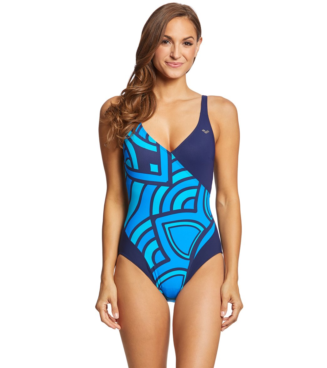 e6113109b803f Arena Women s Bodylift Jade U Back Shapewear One Piece Swimsuit at  SwimOutlet.com - Free Shipping