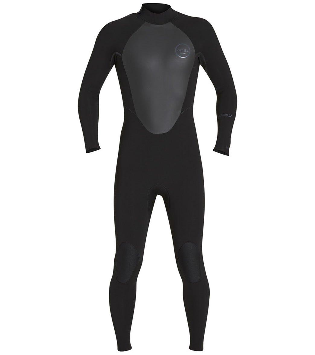Xcel 3/2mm Axis Back Zip Coldwater Fullsuit Wetsuit