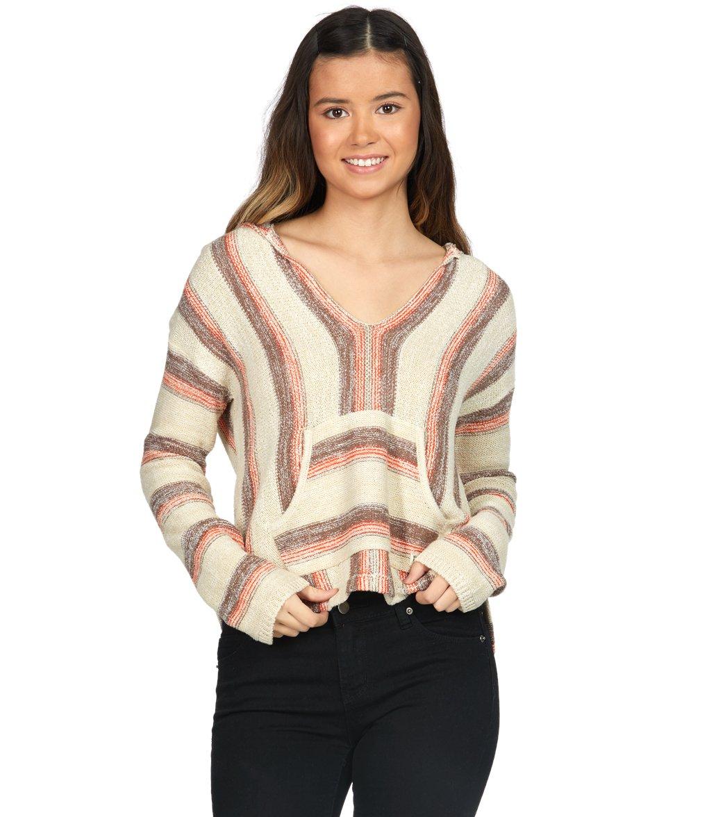 3927174963 Billabong Women's Baja Beach Hooded Pullover Sweater at SwimOutlet.com -  Free Shipping