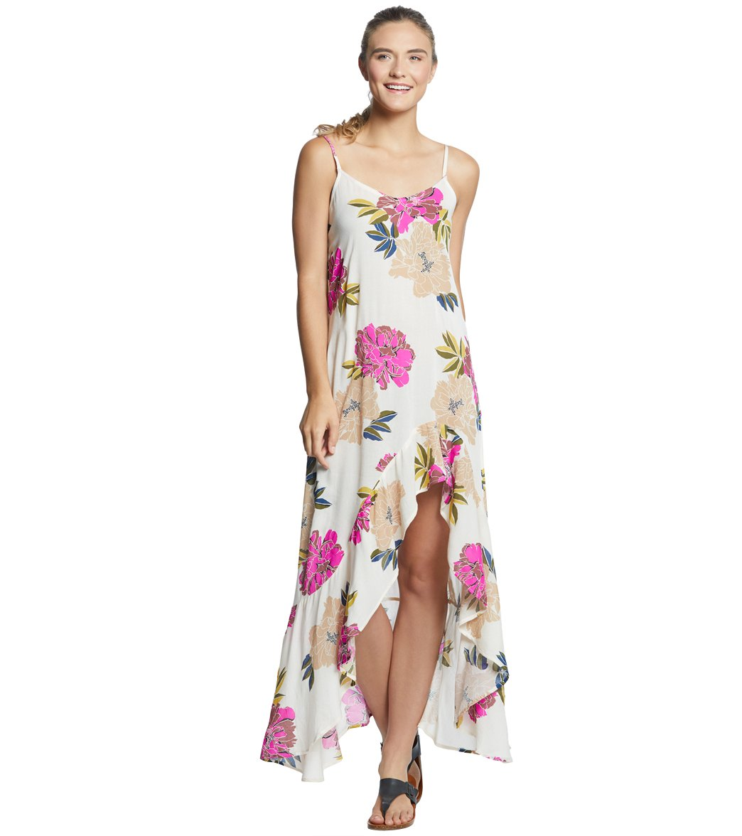 f45a11f8a6 Billabong Women's Kick It Up Maxi Dress at SwimOutlet.com - Free Shipping