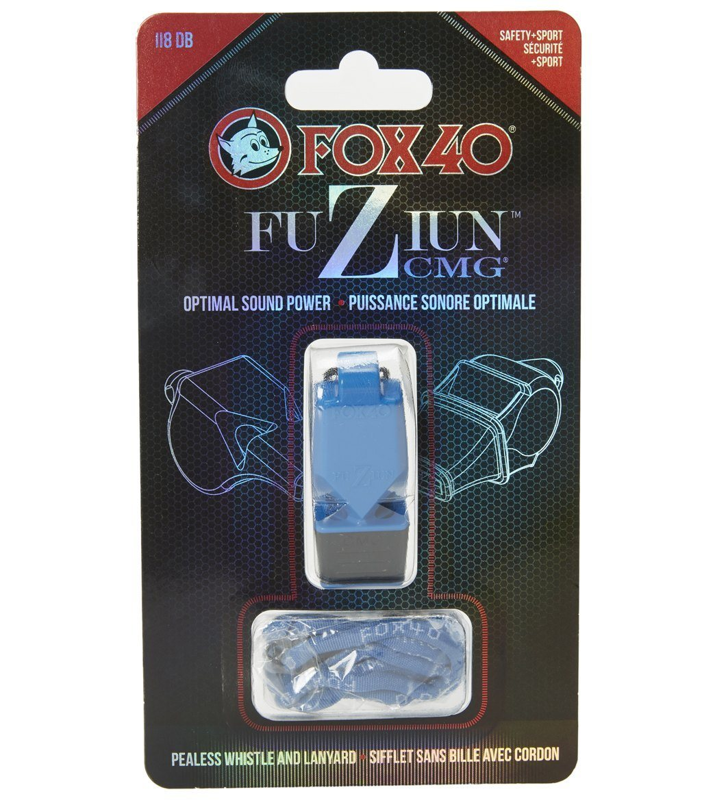 a820df0f3f5b Fox 40 Fuziun CMG Lifeguard Whistle w  Lanyard at SwimOutlet.com