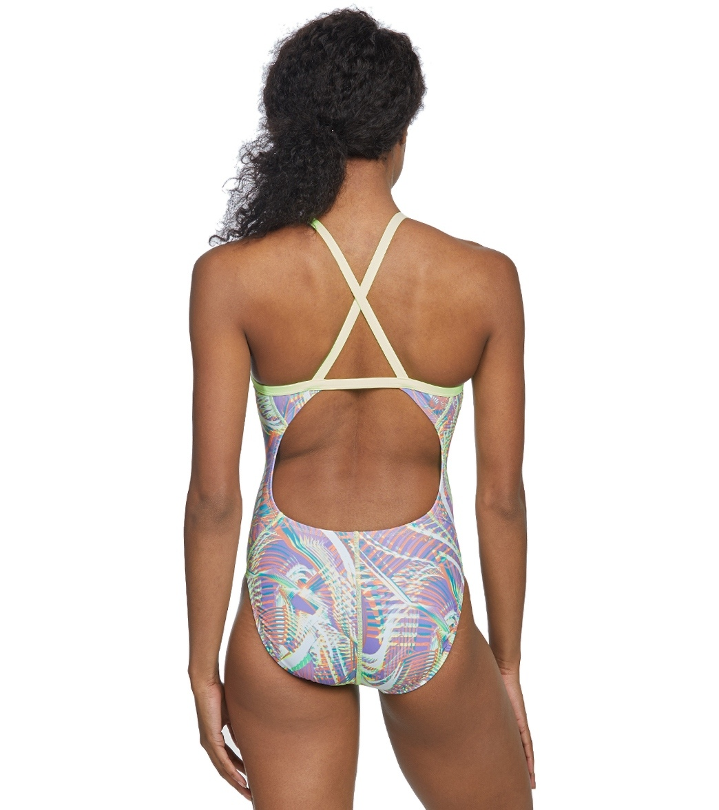 20978feb16 Nike Women s Whirl Crosssback One Piece Swimsuit at SwimOutlet.com ...