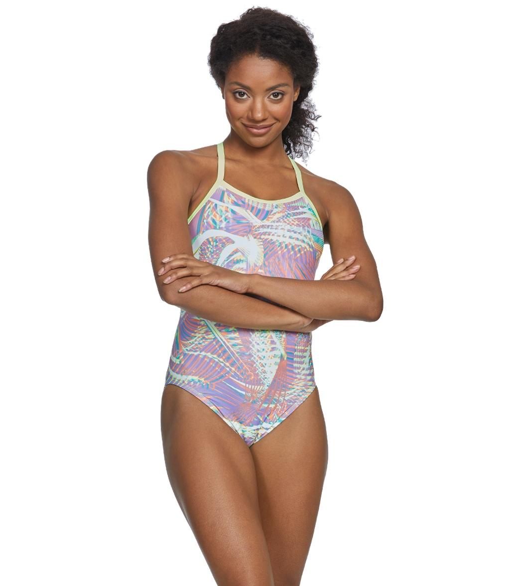9992ff39abe00 Nike Women s Whirl Crosssback One Piece Swimsuit at SwimOutlet.com - Free  Shipping