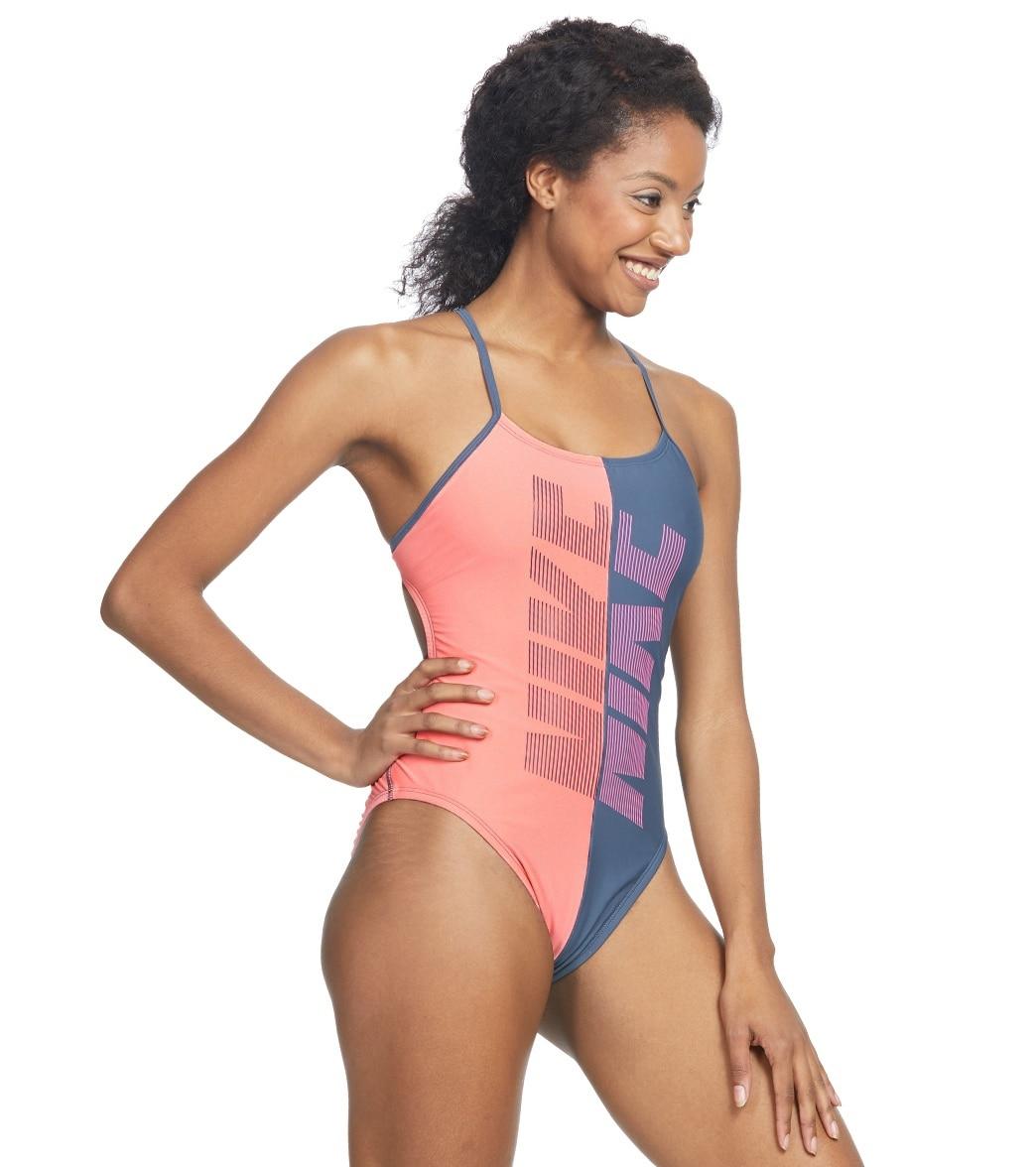 ac319d3f0e Nike Women s Rift Cut Out One Piece Swimsuit at SwimOutlet.com ...