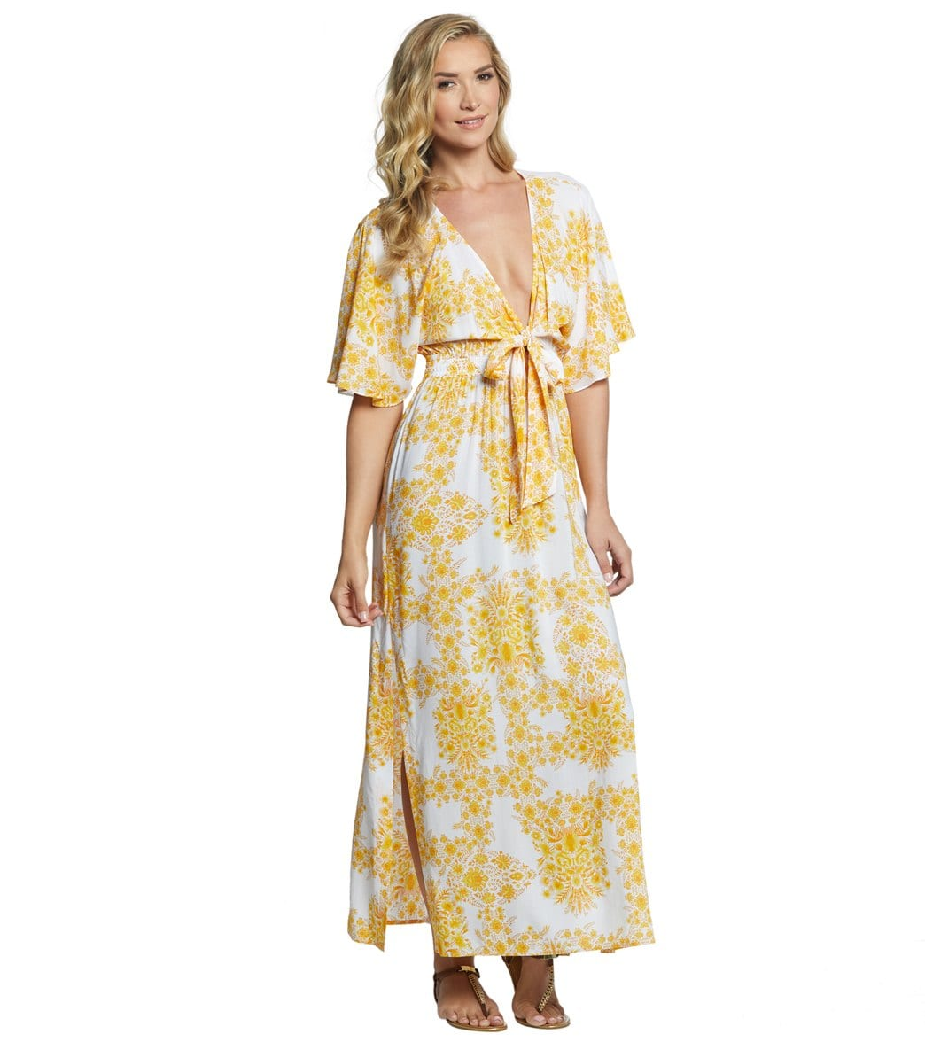 e9d94ce9f5395 Seafolly Sunflower Maxi Dress at SwimOutlet.com - Free Shipping