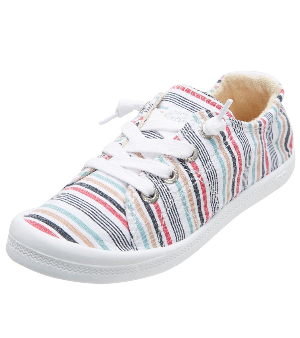 Roxy Girls' Bayshore Sneaker (Little