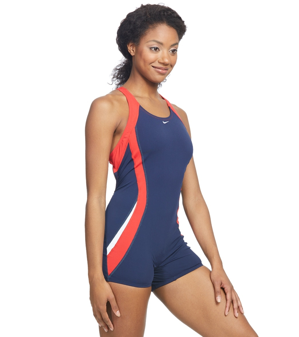 2590947a176 Nike Women s Color Surge Powerback Unitard at SwimOutlet.com - Free ...