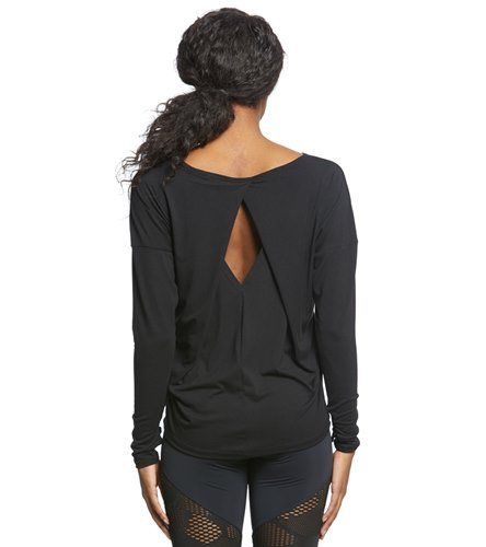 539cf57654055 Onzie Diamond Back Long Sleeve Top at YogaOutlet.com - Free Shipping
