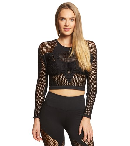 NUX All Net Seamless Long Sleeve At YogaOutlet.com