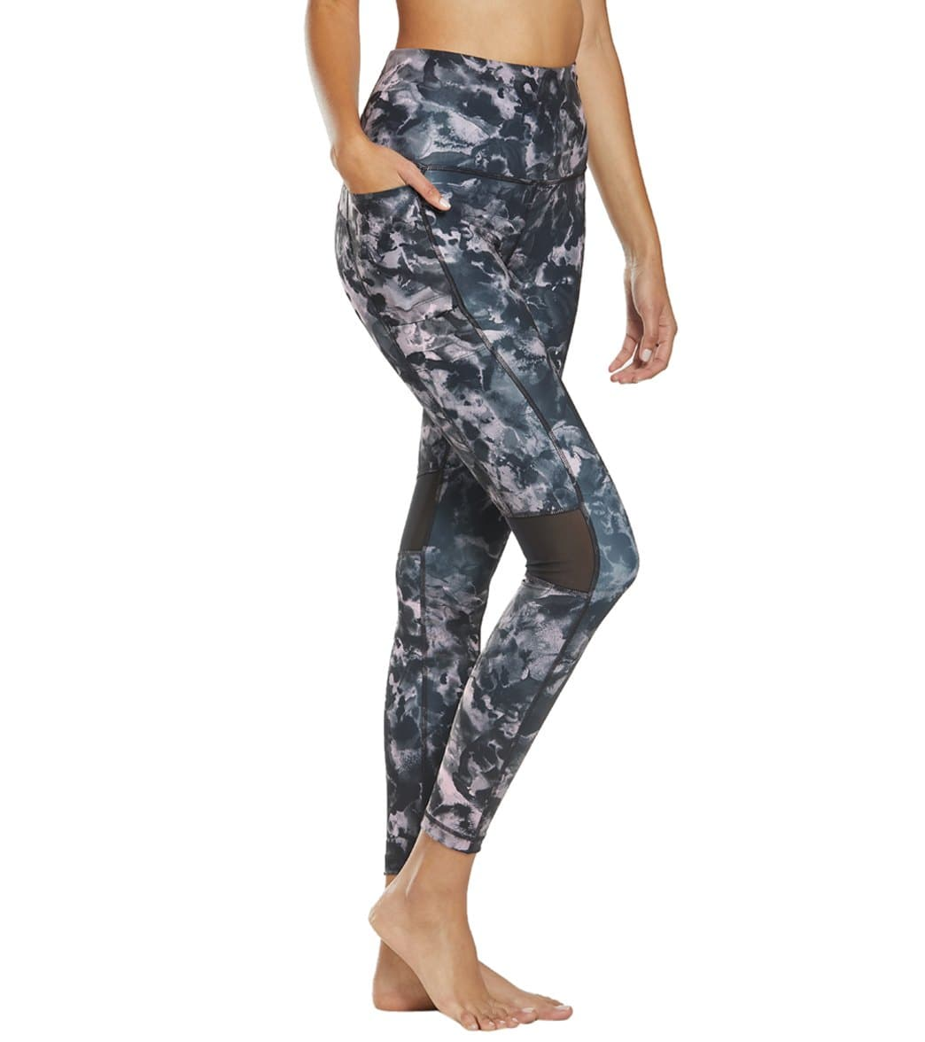 8b50bc3796f Lole Women s Burst High Waist Ankle Leggings at SwimOutlet.com - Free  Shipping
