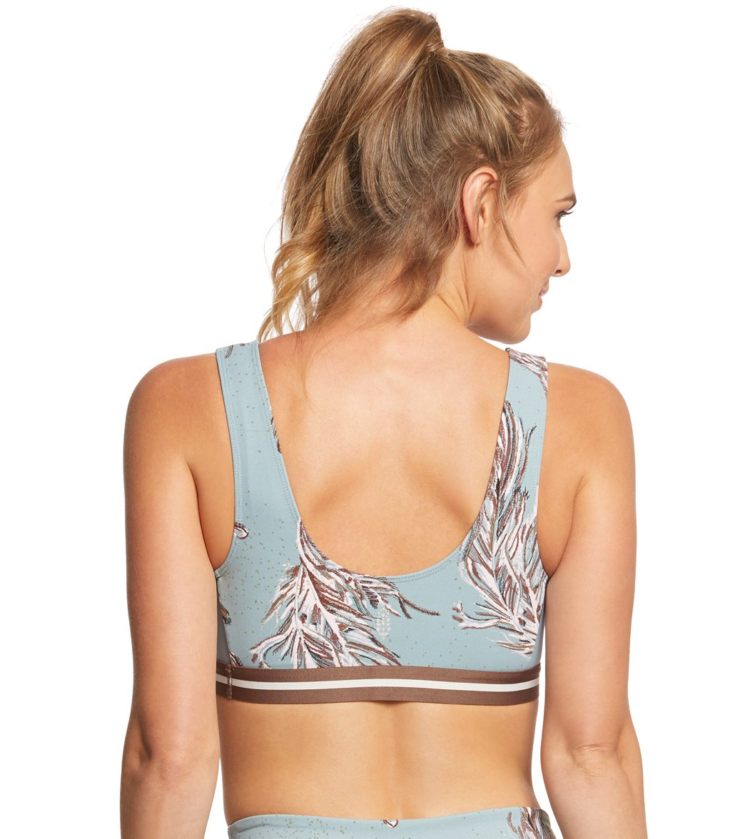 5262961990 Free People Movement Serene Printed Sports Bra at YogaOutlet.com ...