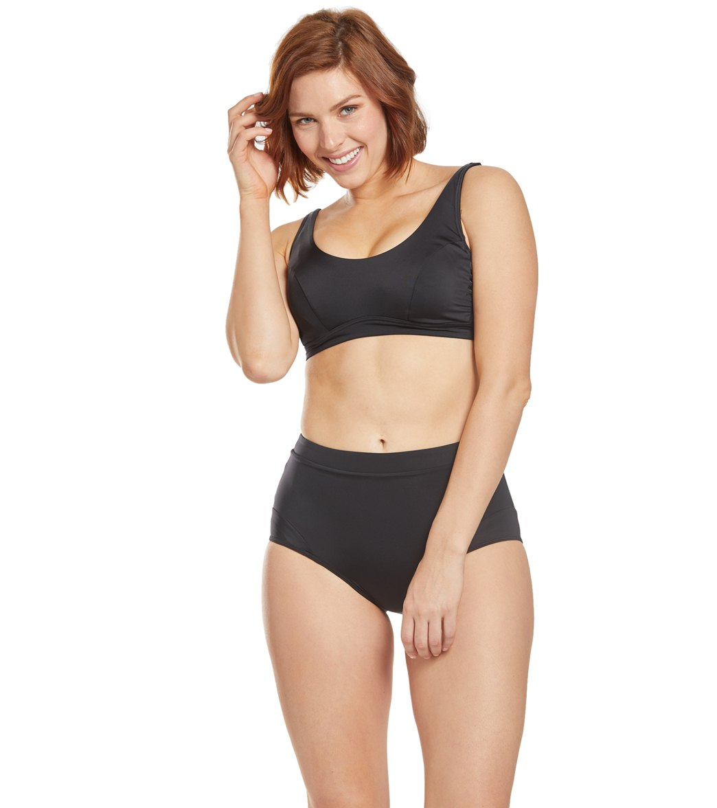 d7f3f305833f9 Prana Solid Abella Bikini Top (D-Cup) at SwimOutlet.com - Free Shipping