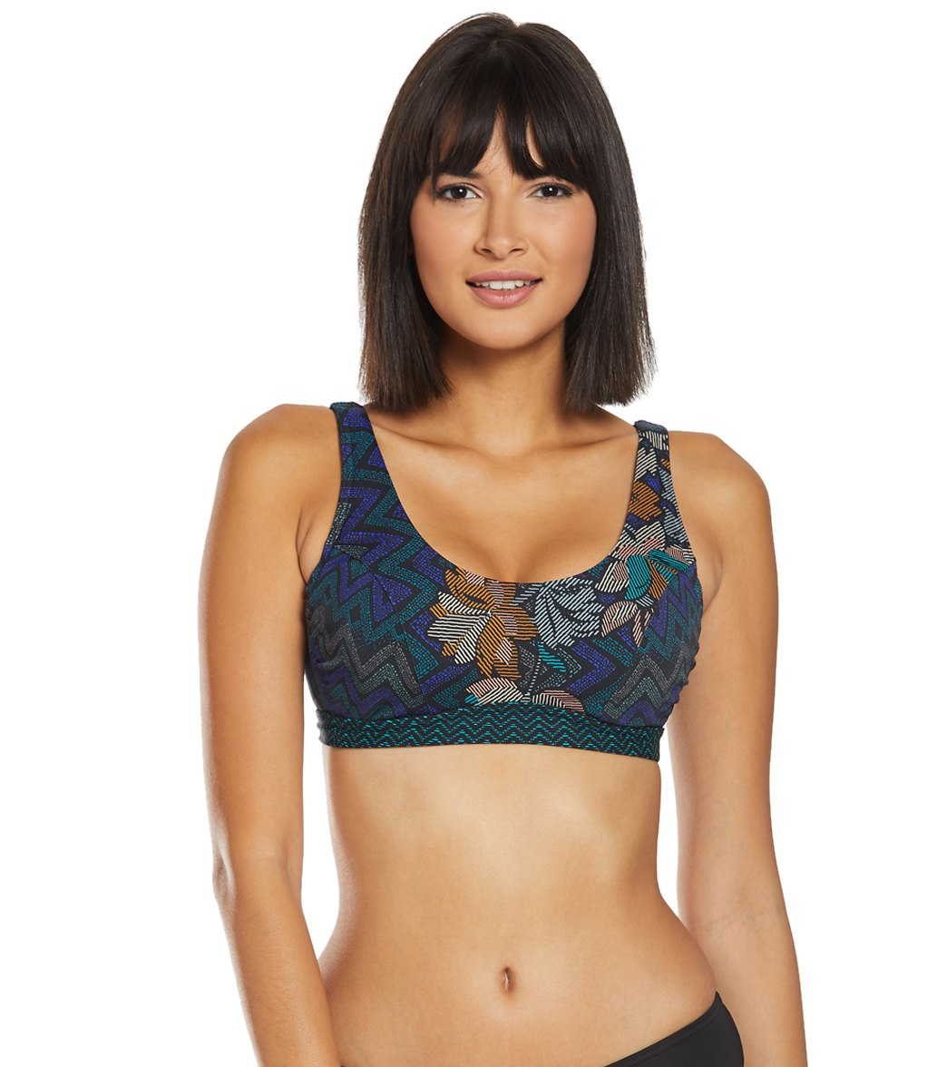 07f8b24b5 Prana Horchata Abella Bikini Top (D-Cup) at SwimOutlet.com - Free Shipping