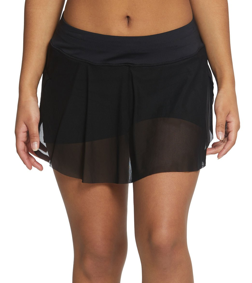 daa704af708 Coco Reef Classic Solid Charisma Swim Skort at SwimOutlet.com - Free  Shipping