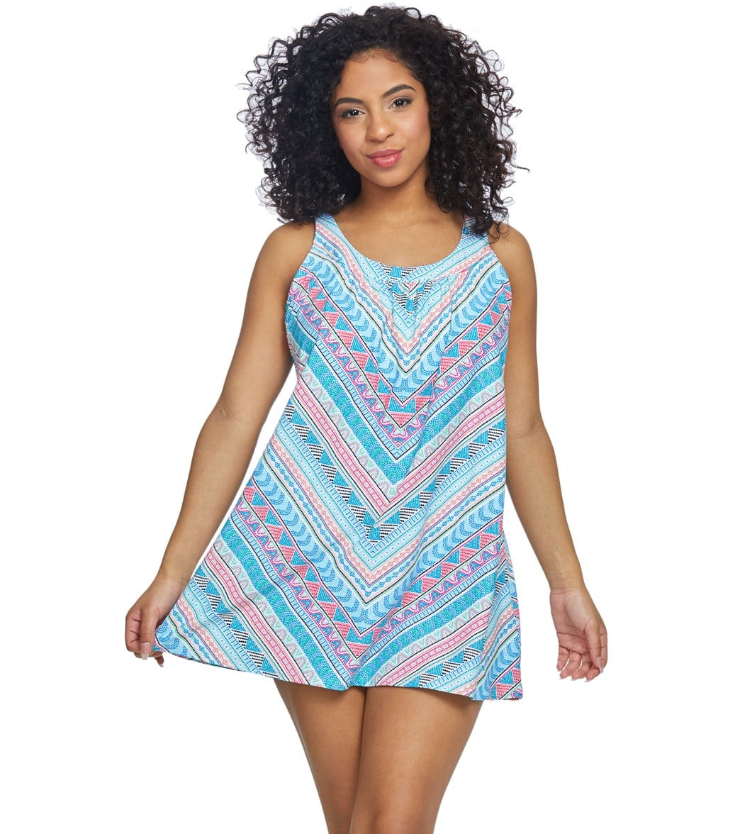 Turquoise Swim Dress