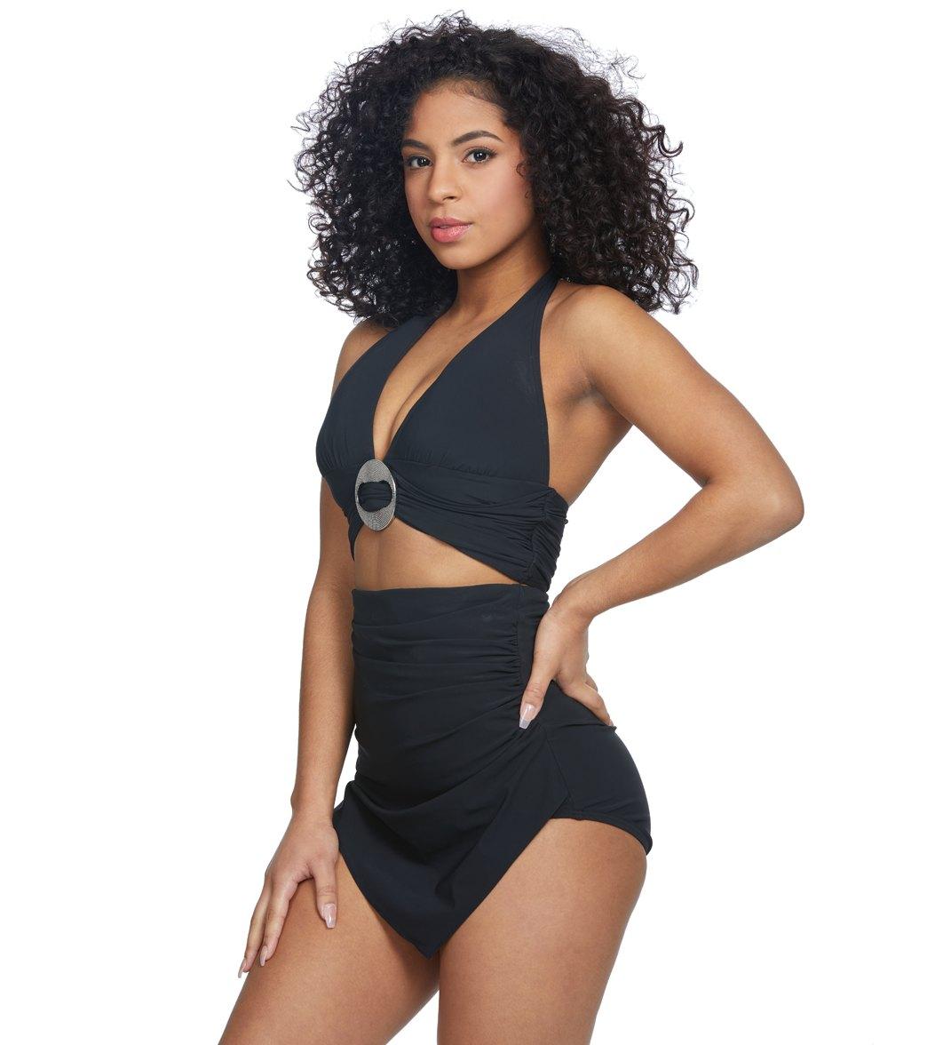 91b62ea7cf Coco Reef Contours Keepsake Brilliance Halter Bikini Top (C D Cup ...