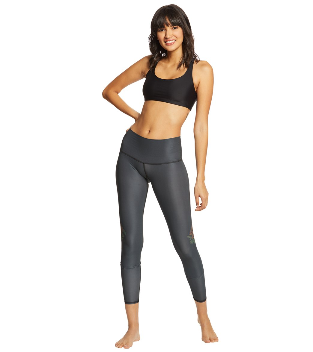 a936c8a066f Teeki Gypsy Rose Hot Yoga Pants at YogaOutlet.com - Free Shipping