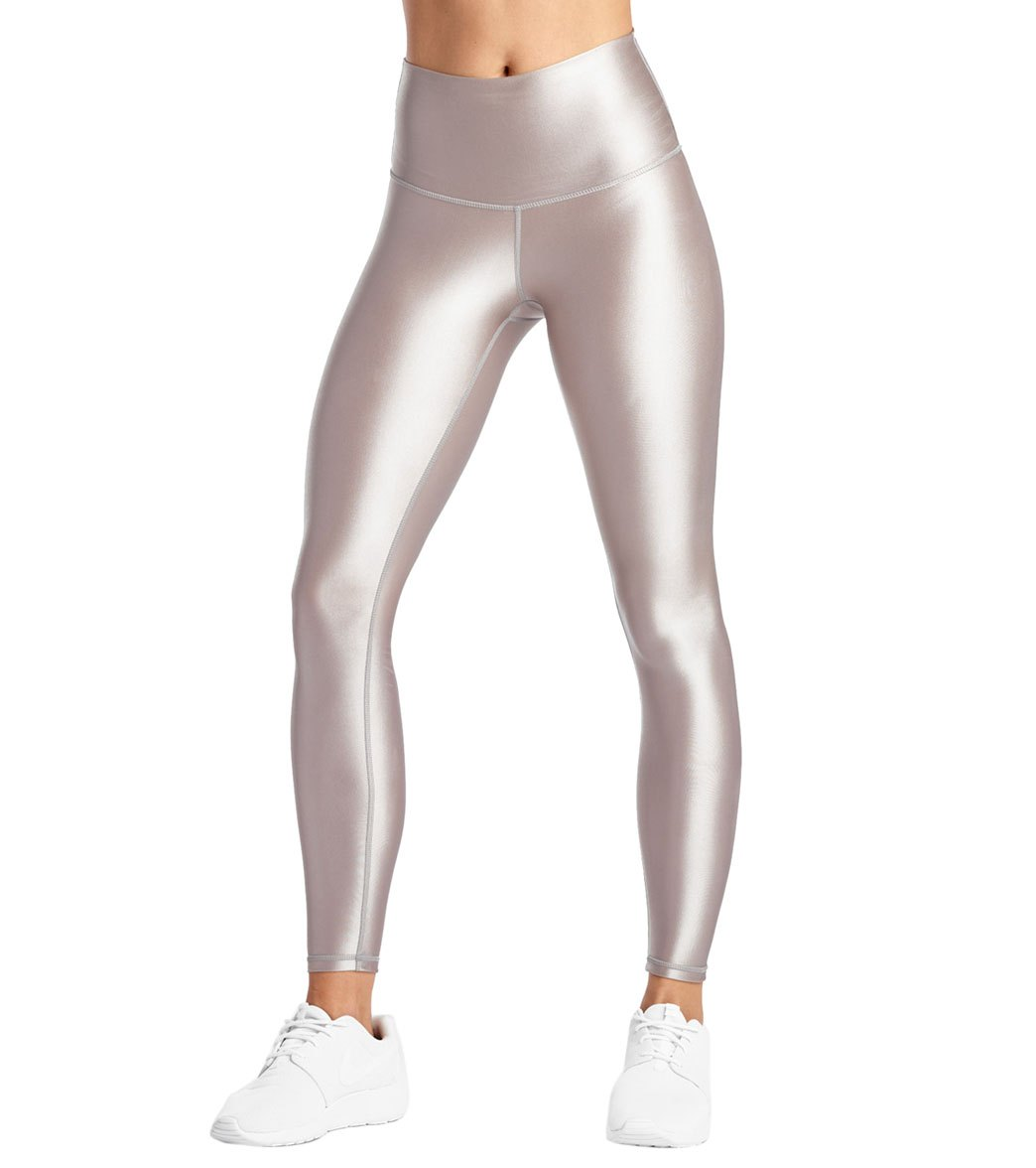 48197cfe9c DYI High Waisted Shine Signature Yoga Leggings at YogaOutlet.com ...