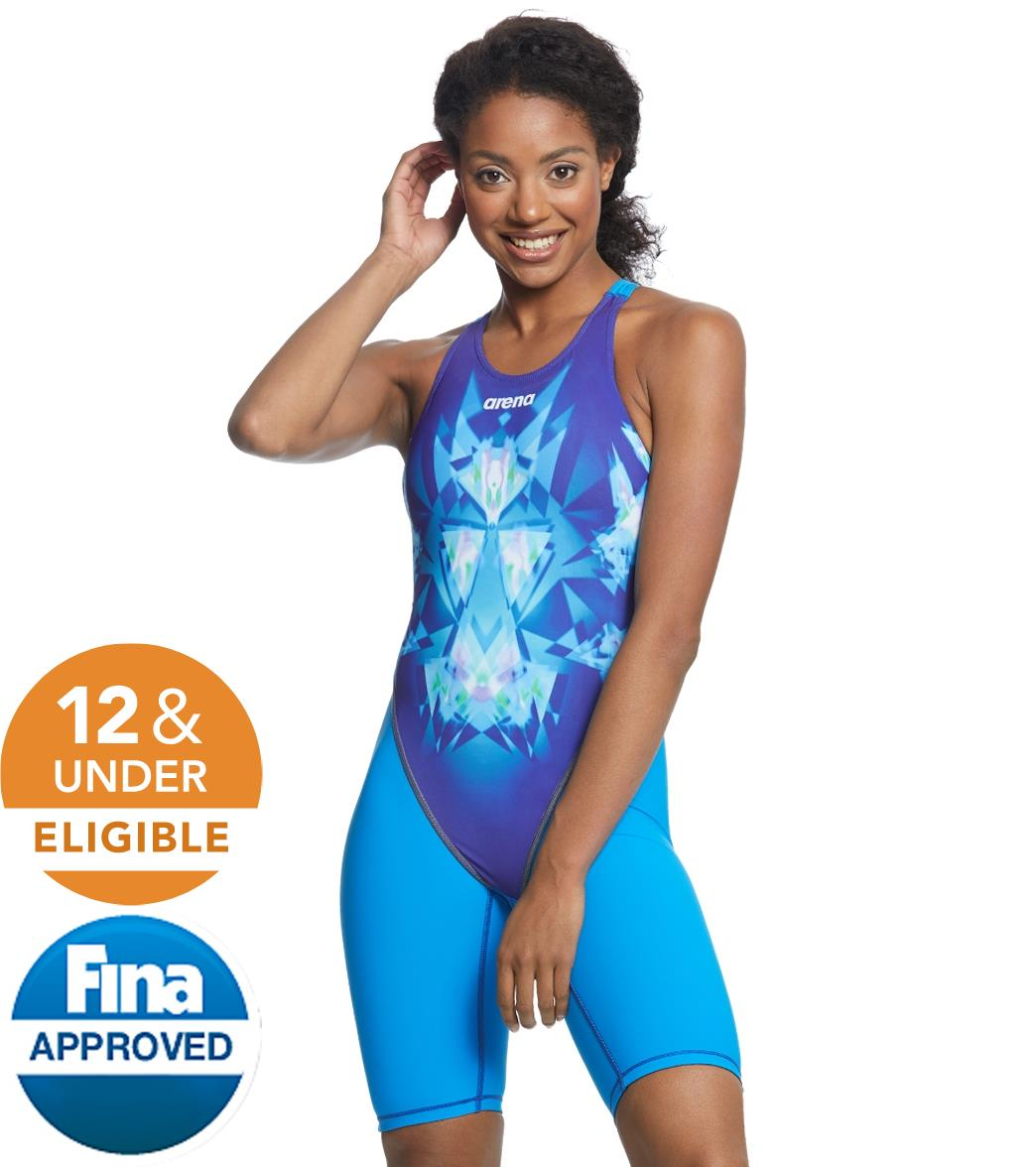 24115628c8bf Arena Women's Powerskin Luckystar ST 2.0 Full Body Open Back Limited  Edition Tech Suit at SwimOutlet.com - Free Shipping
