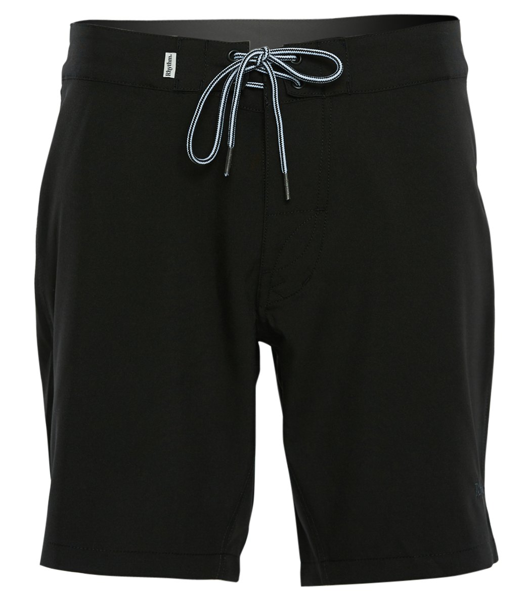 50a27f2237 Rhythm Black Label Swim Trunk at SwimOutlet.com - Free Shipping