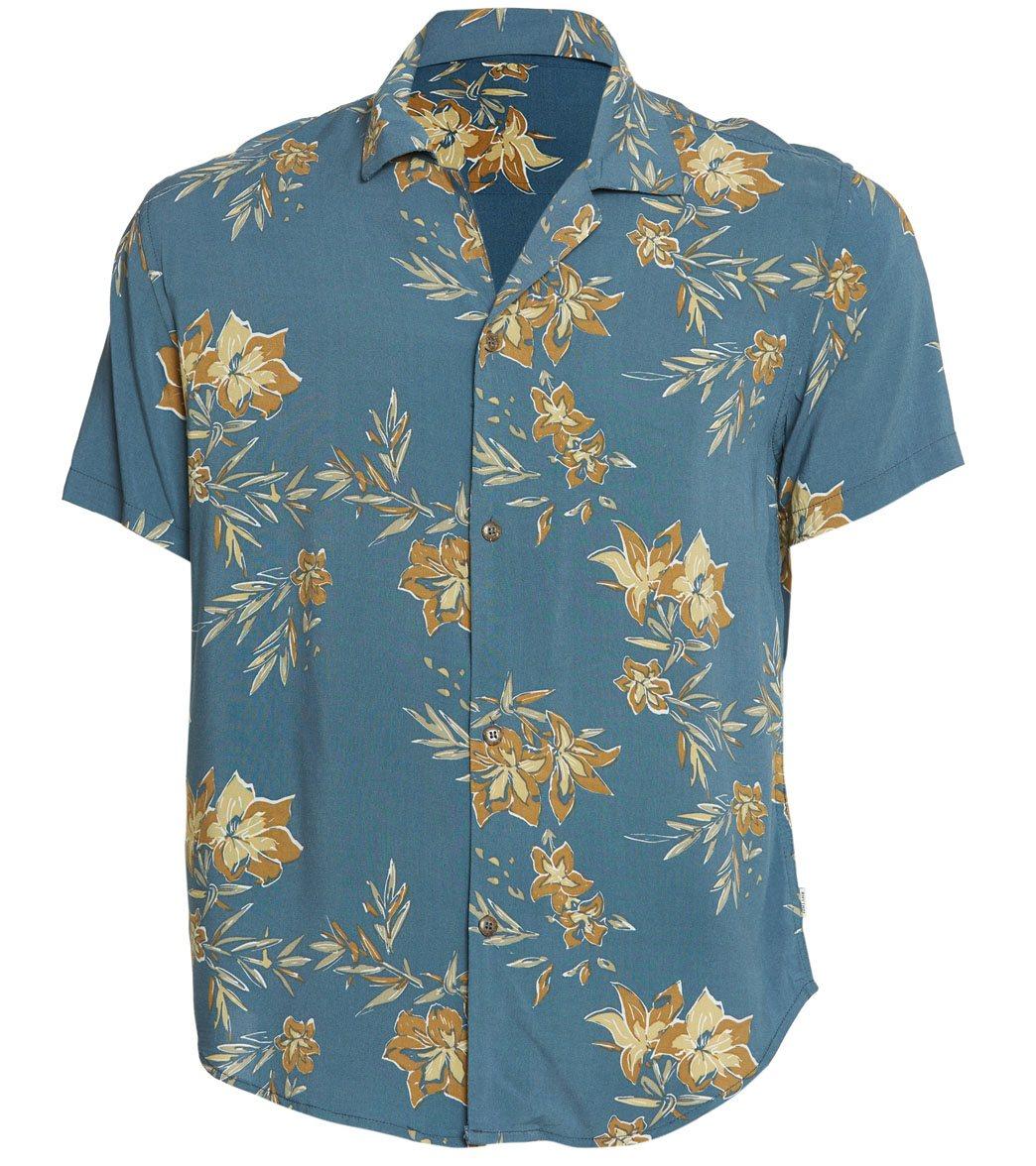 a1a11559584485 Rhythm Vintage Aloha Short Sleeve Shirt at SwimOutlet.com - Free Shipping