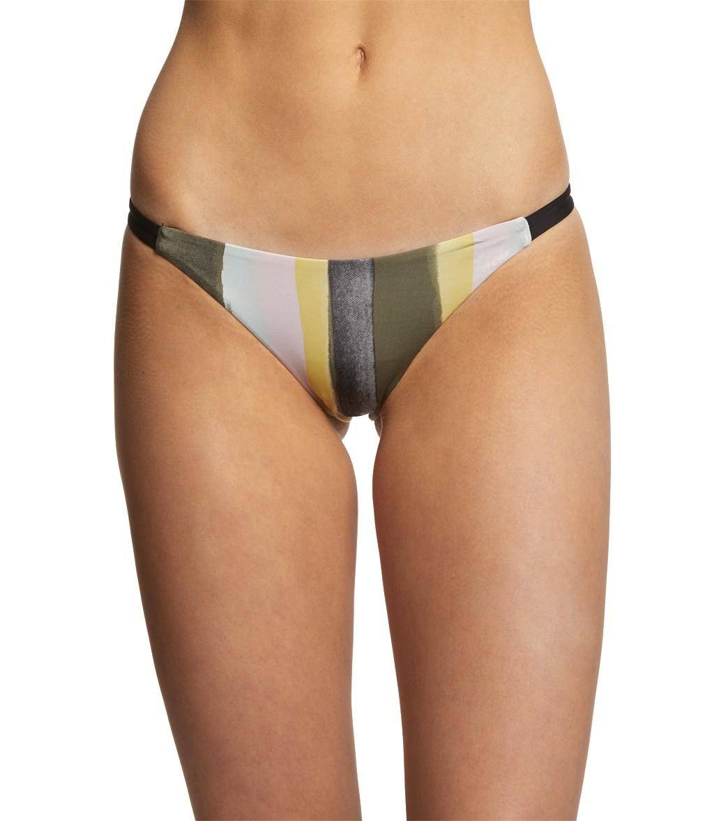 Hurley Women's Quick Dry Resin Surf Bikini Bottom