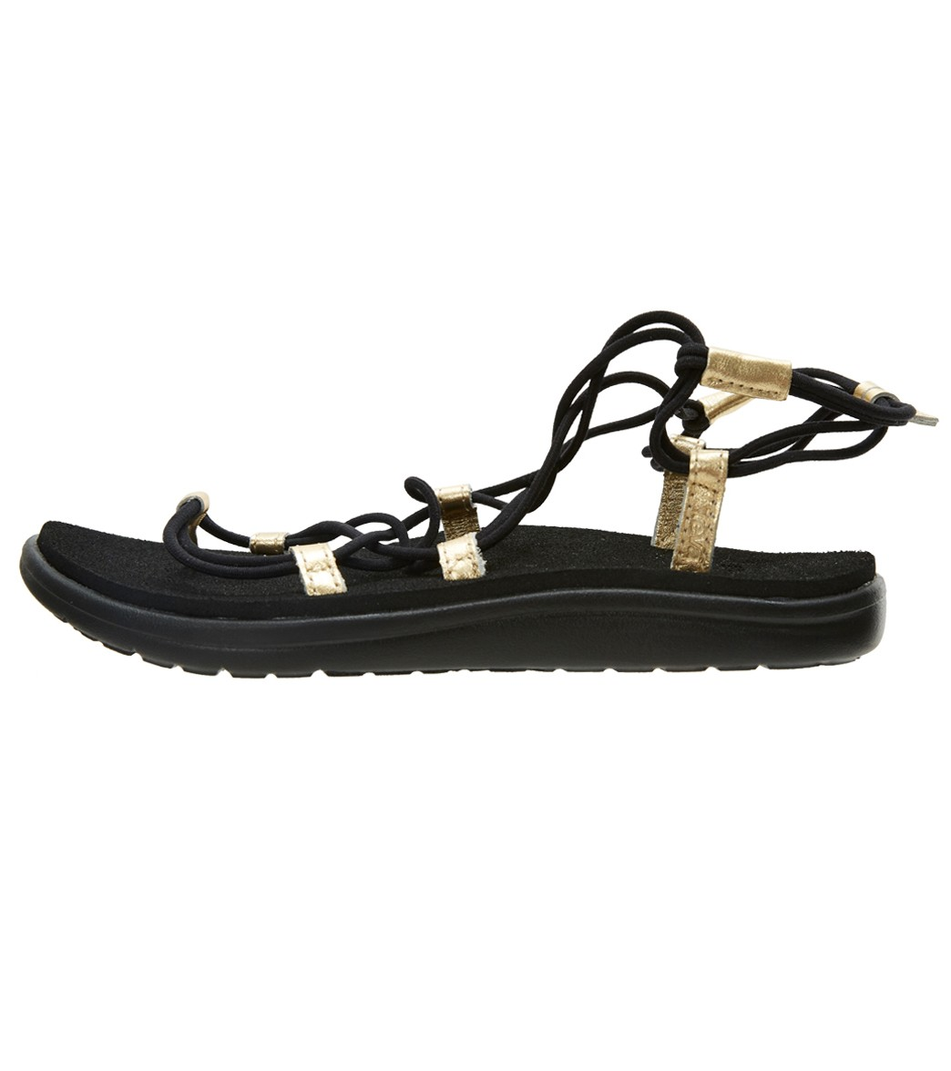 455d307972c9 Teva Voya Infinity Metallic Sandal at SwimOutlet.com