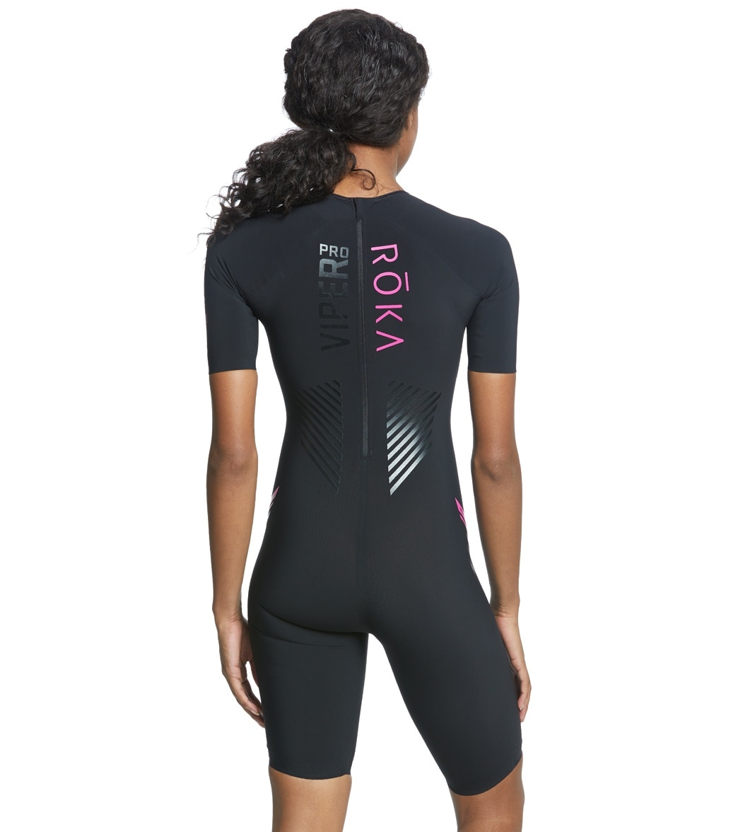 136fa9d5858d ROKA Women s Viper Pro Short Sleeve Swimskin at SwimOutlet.com ...