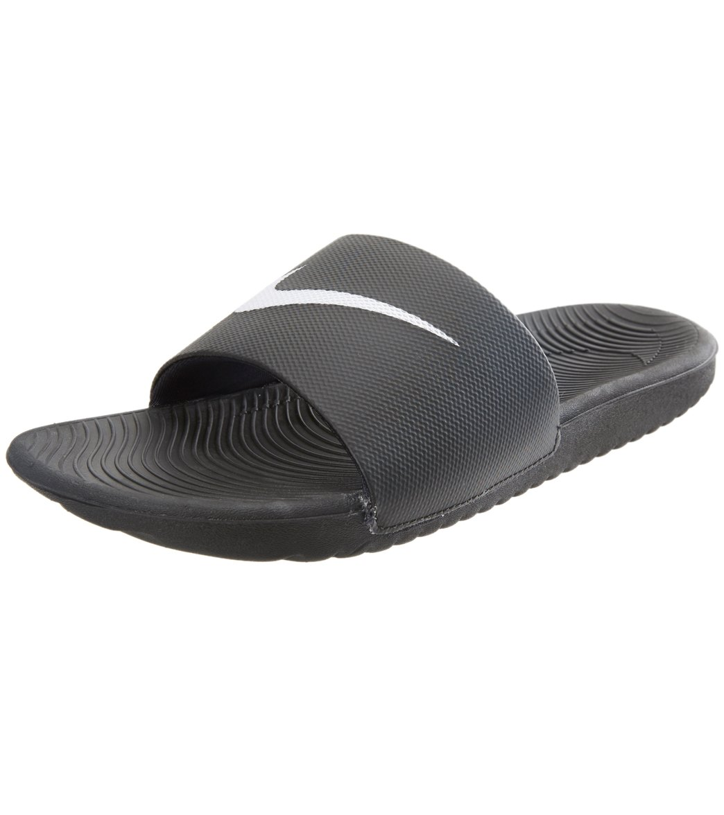 Nike Men's Kawa Slides Sandals - Black 13 - Swimoutlet.com