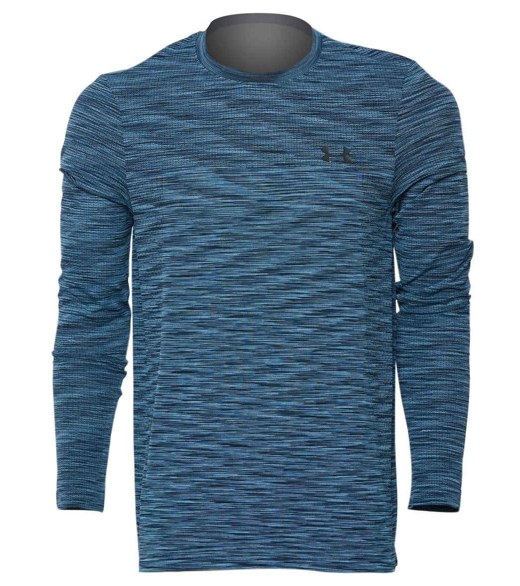 785b18197 Under Armour Men's UA Vanish Seamless Long Sleeve Shirt at SwimOutlet.com -  Free Shipping