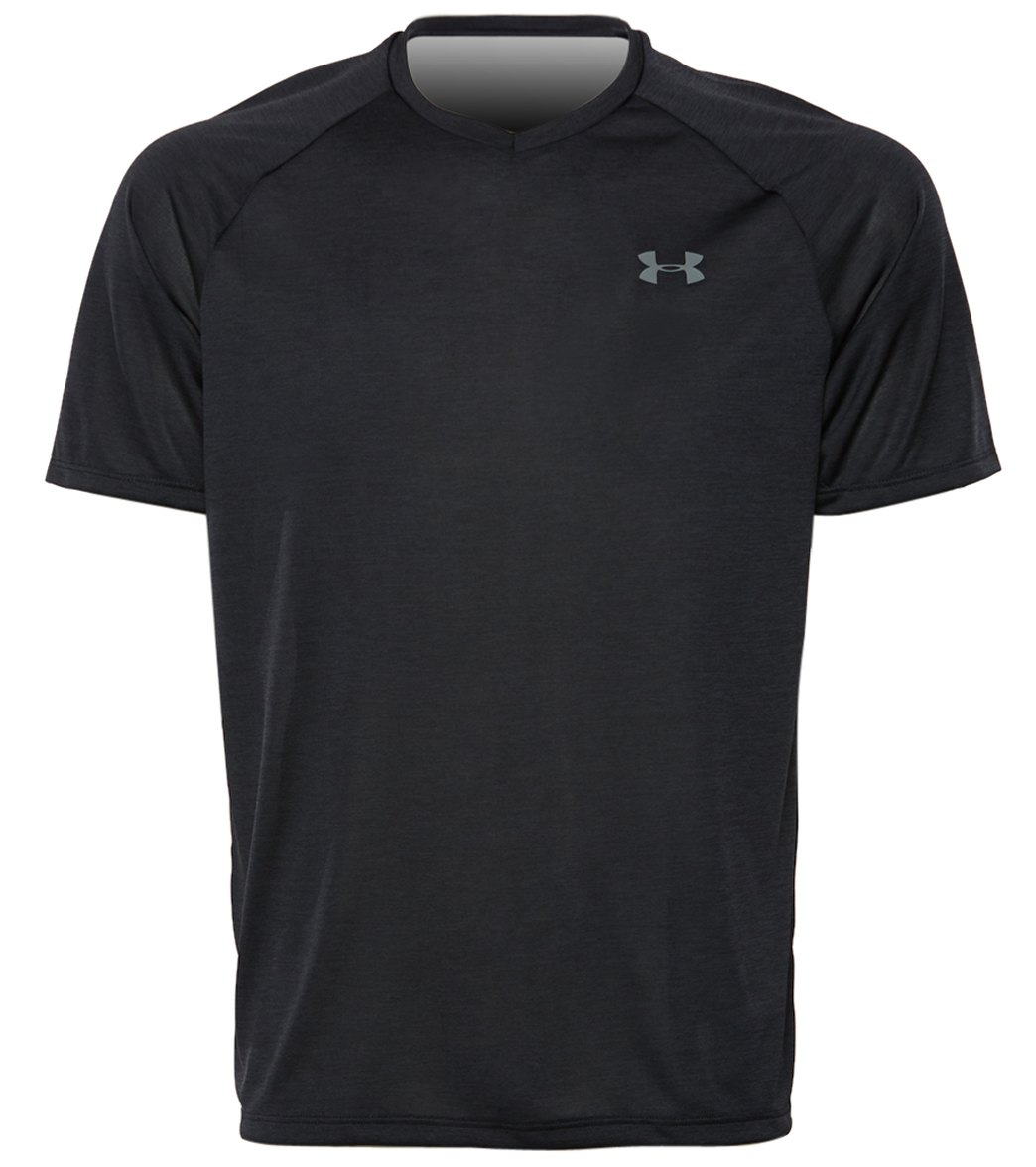 Men/'s Under Armour Heat Gear Loose Fit V-Neck T-Shirt