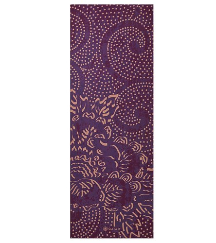 "Gaiam Mulberry Cluster Classic Yoga Mat 68"" 4mm At"